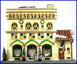 Dept. 56 Studio Christmas In The City. 25th Anniversary Event