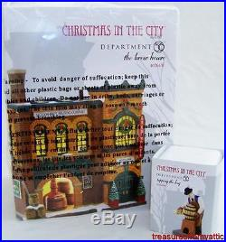 Dept 56 THE BREW HOUSE 4036491 + TAPPING THE KEG 2014 NRFB Christmas In The City