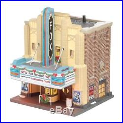 Dept. 56 The Fox Theatre 4025242 Christmas in the City Lights Brand New in Box