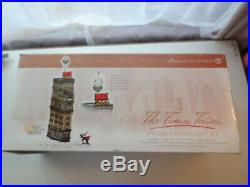 Dept 56 Times Tower 2000 Square N York City New Years Eve 55510 Special Edition
