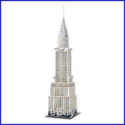 Dept 56 Villages The Chrysler Building 4030342 NIB