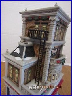Dept. 56 Woolworth's Building Christmas In The City Interior Scene HTF 56.59249