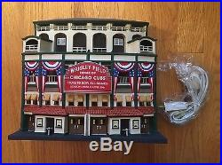 Dept 56 Wrigley Field Stadium Chicago Cubs Christmas In The City
