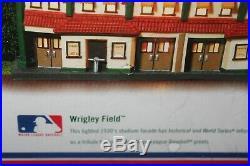 Dept. 56 Wrigley field STADIUM FACADE CHRISTMAS IN THE CITY Chicago Cubs NIB