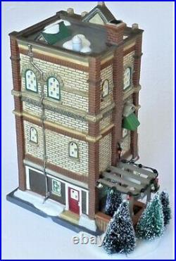 Dept 56 Xmas in the City Building #799994 Miller & Sons Hardware & Garden Center