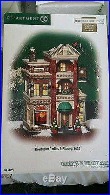 Dept 56 christmas in the city