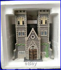 Dept, Department 56 Christmas in the City Cathederal Church Of St Mark LE #754