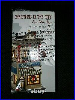 Dept Department 56 Christmas in the City East Village Wakefield Books 4025243