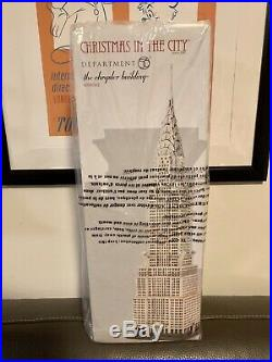 Dept Department 56 Chrysler Building 4030342 Christmas in the City