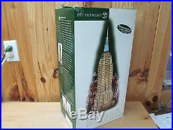 Empire State Building Christmas in the City Dept. 56 Historical Landmark Series