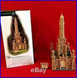 Historic Chicago Water Tower Dept 56 Christmas in the City 59209 retired CIC