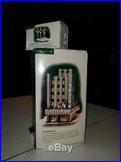 Illuminated Department 56 Radio City Music Hall with Rockettes Figurines