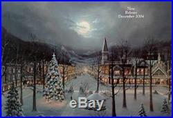 Jesse Barnes Christmas In The City 477/1250 WithCERT + Folder (Mint)