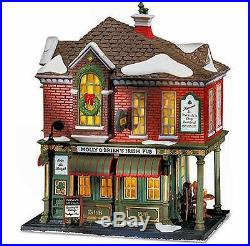 Molly O'Brien's Irish Pub NEW Department Dept. 56 Christmas In The City CIC