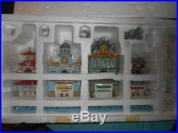 Monopoly 20 Piece Gift Set Dept 56 City Lights Vintage Original Collectible Rare