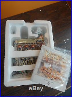 NEW Dept 56 58484 Brightsmith & Sons Queen Jeweller Shop Store Christmas Village