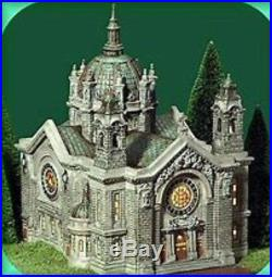 NEW Dept 56 CATHEDRAL OF ST PAUL 2001 Figure 58930 Christmas In The City