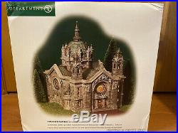 NEW Dept 56 Christmas in the City CATHEDRAL OF ST PAUL 58930 Perfect