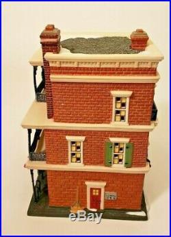 NEW Dept 56 Christmas in the City (CIC) Series JAMBALAYA CAFE #59265