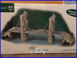 NEW Dept56 59247 Brooklyn Bridge New York Christmas In The City Landmark Village