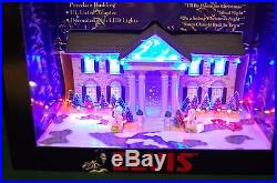 Nib Elvis Presley Graceland At Christmas Led Illuminated Musical Mansion/buildin
