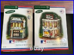 NY Yankees Department 56 Christmas in the City Series 20 Pieces with Boxes