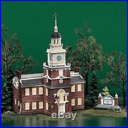 New Dept 56 55500 Independence Hall
