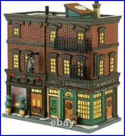 New Retired Dept 56 SoHo Shops #4030347 Christmas In The City Village Building