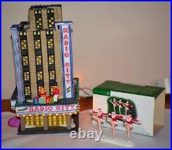 RARE -Department DEPT 56 Radio City Music Hall CIC -58924+ BONUS -ROCKETTETHES