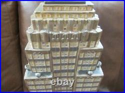 RARE Dept 56 Christmas in the City Village EMPIRE STATE BUILDING
