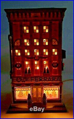 RARE! NEW Dept 56 Christmas in City (CIC) Series FERRARA BAKERY & CAFE #59272