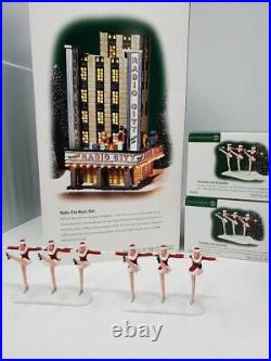 RARE RETIRED Dept 56 Radio City Music Hall Christmas in the City 58924 Rockettes