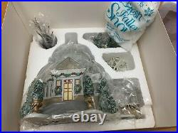 RETIRED RARE Dept 56 Christmas in the City Crystal Garden Conservatory Set withbox