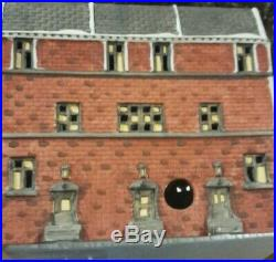 Used Dept 56 Christmas in The City Sutton Place Brownstones Retired 5961-7