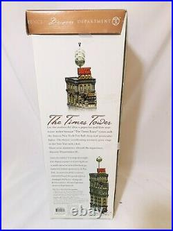 VTG 1999 Department 56 The Times Tower Special Edition 2000 Gift Set free ship