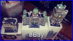 VTG lot of (3)Dept 56 Heritage Village Christmas in the City Series The Capital