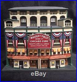 Wrigley Field- Christmas In The City Decoration In Original Box Dept 56
